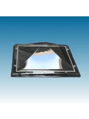 lichtkoepel 90x150 enkelwandig polycarbonaat (PC) piramide
