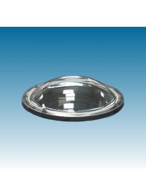 lichtkoepel rond 90 driewandig acrylaat (PMMA/PMMA/PMMA) bolvormig