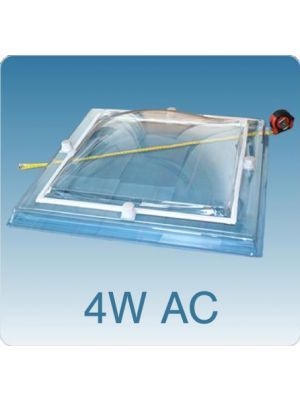 Losse koepel vierwandig acrylaat (PMMA/PMMA/PMMA/PMMA)