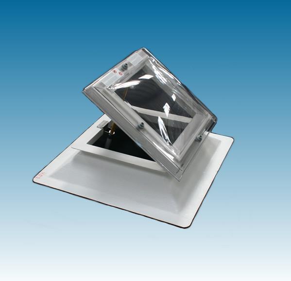 Ventilatie lichtkoepel